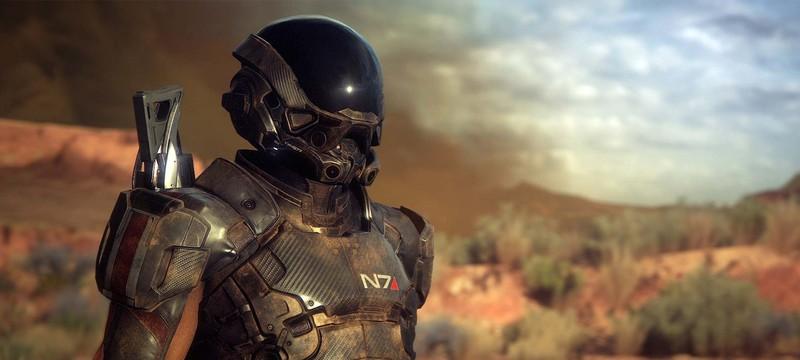 Персонаж N7 в трейлерах Mass Effect: Andromeda — отец главных героев