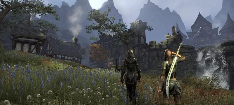 Elder Scrolls Online будет работать в родном 4K на PS4 Pro