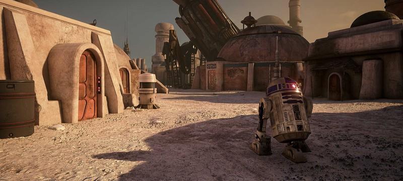 Obsidian показала, как Star Wars может выглядеть на Unreal Engine 4