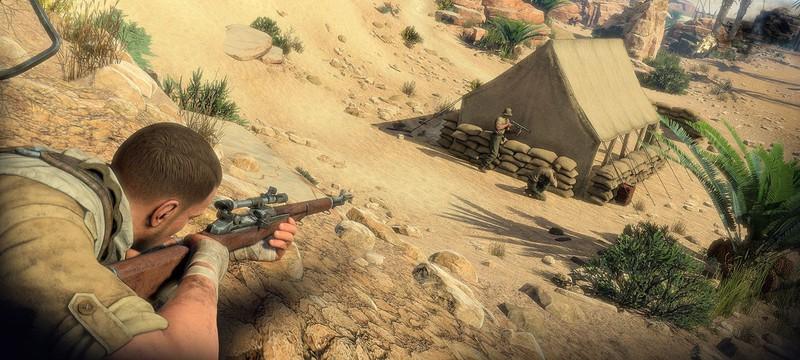 Почти час геймплея Sniper Elite 4