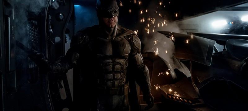 Новый кадр с Бэтменом со съемок Justice League