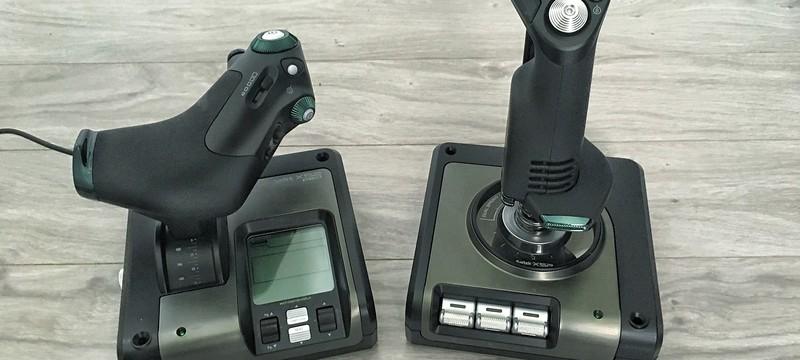 Logitech купила Saitek — займется джойстиками для симуляторов