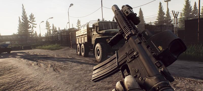 Новый геймплей из альфы Escape from Tarkov