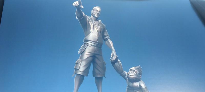 Blizzard создаст статую Криса Метцена