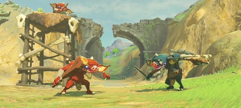 Новое видео Zelda: Breath of the Wild — кулинария