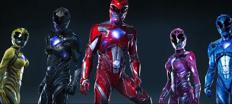 Новые постеры Power Rangers с зордами
