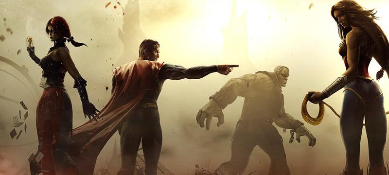 Новый геймплей Injustice 2 c EGX 2016