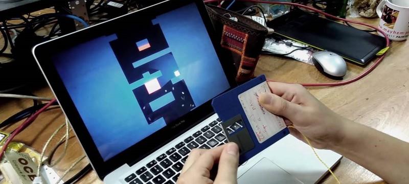 Mr Floppy — платформер, управляемый с помощью floppy-диска