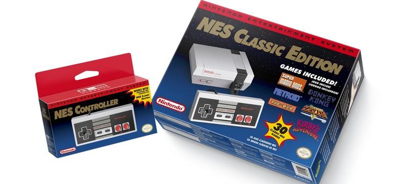 Трейлеры переиздания консоли NES от Nintendo