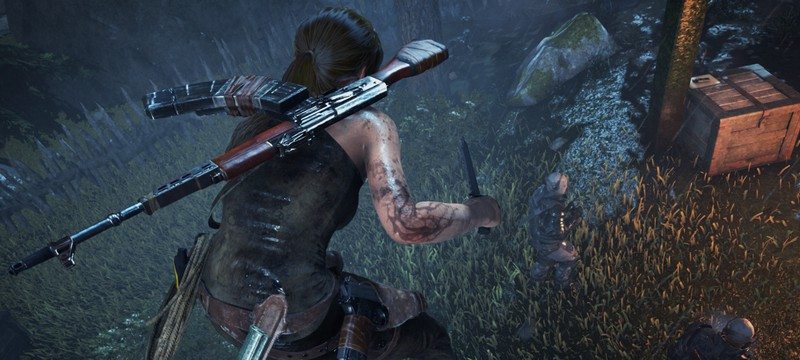 Час геймплея PS4-версии Rise of the Tomb Raider