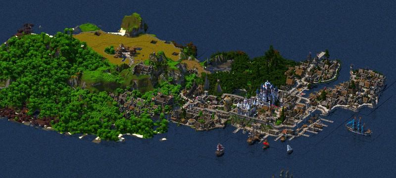 Фэнтези-мир в Minecraft за 4.5 года