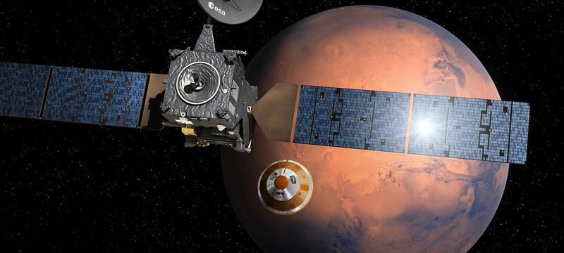 Роскосмос и ESA сядут на Марс через неделю