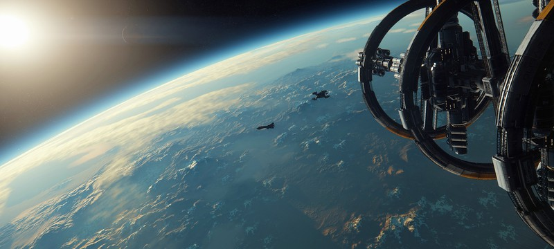 Планетарные скриншоты Star Citizen