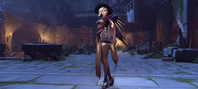 Скриншоты новых образов Overwatch на хеллоуин