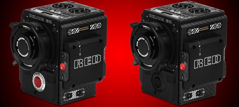 8K кинокамера - RED WEAPON BRAIN with HELIUM 8K S35 Sensor