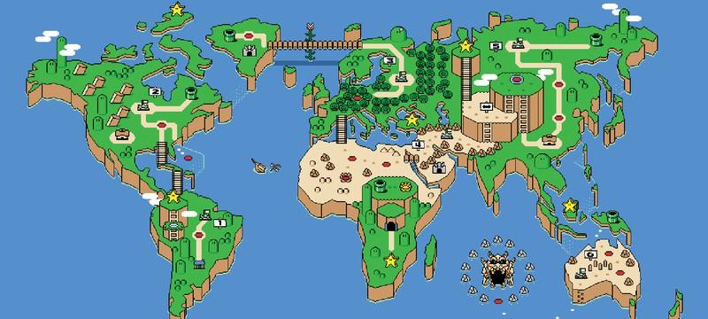 Первый взгляд на парк развлечений Super Nintendo World