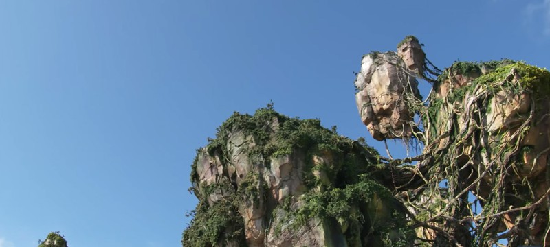 Disney хвастается парящими камнями в тематическом парке Avatar