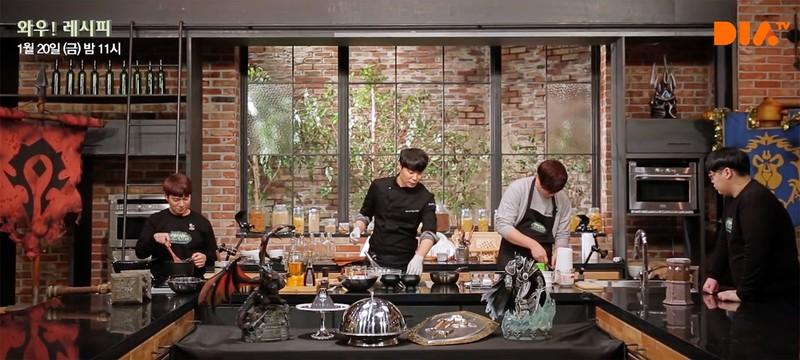 В Южной Корее запустили кулинарное шоу World of Warcraft