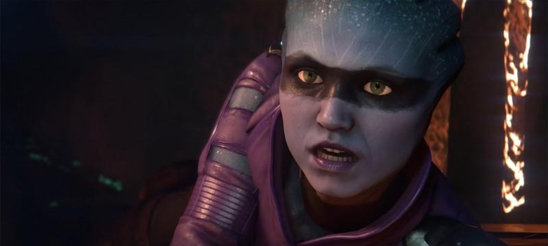 Новый кинематографический трейлер Mass Effect Andromeda