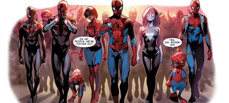 Найди 10 отличий: Человек-паук и его вселенные