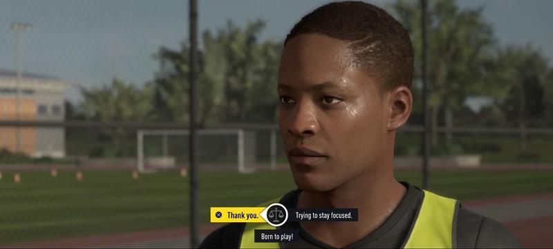 FIFA 18 будет включать сюжетный режим