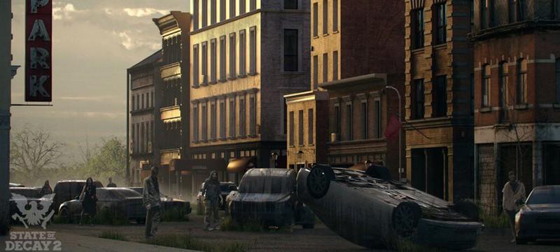Концепт-арт State Of Decay 2 представляет день и ночь