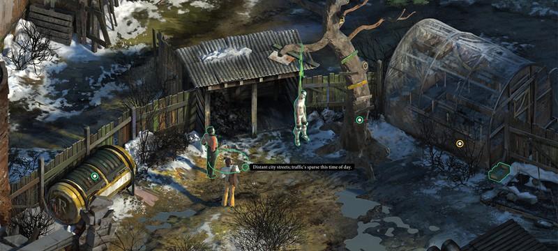 No Truce With The Furies — процедурная изометрическая RPG про копа