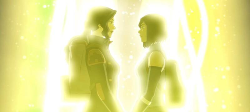 Первое свидание Корры и Асами в новом комиксе Legend of Korra