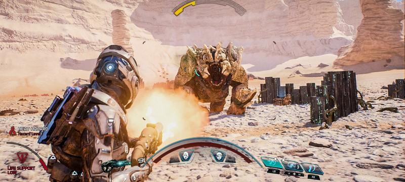Скриншоты геймплея Mass Effect Andromeda