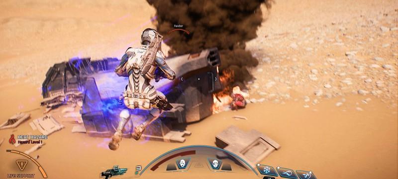 Разбор геймплея Mass Effect Andromeda — Способности