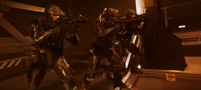 Трейлер Cyberpunk 2077 воссоздали в Star Citizen