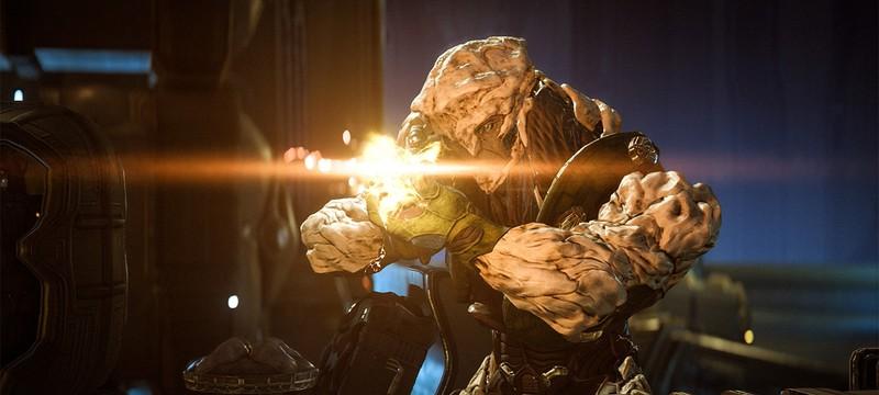 Пара новых скриншотов Mass Effect Andromeda