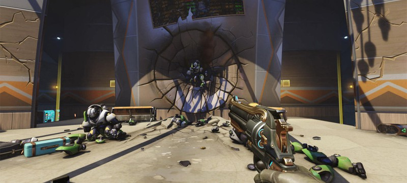 Тизеры нового героя Overwatch появились на тестовых серверах