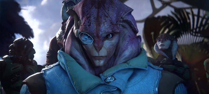 Секс Mass Effect Andromeda будет похож на космическую порно-эротику