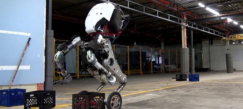 Двухколесный робот Boston Dynamics ловок, быстр и устойчив