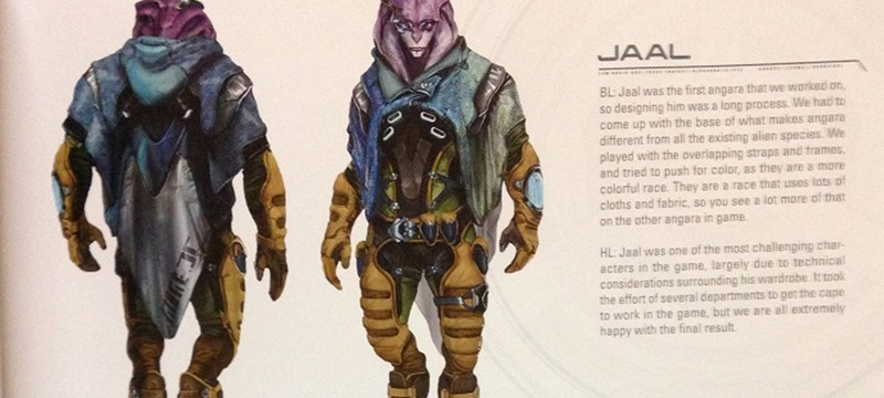 Еще несколько концептов Mass Effect Andromeda утекло в сеть