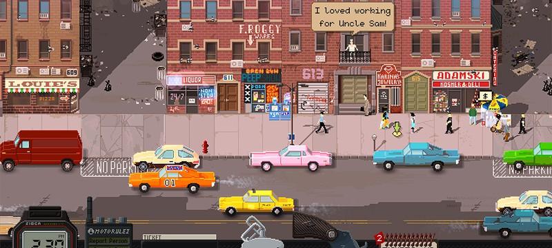 Пиксельный симулятор копа Beat Cop выходит в конце марта