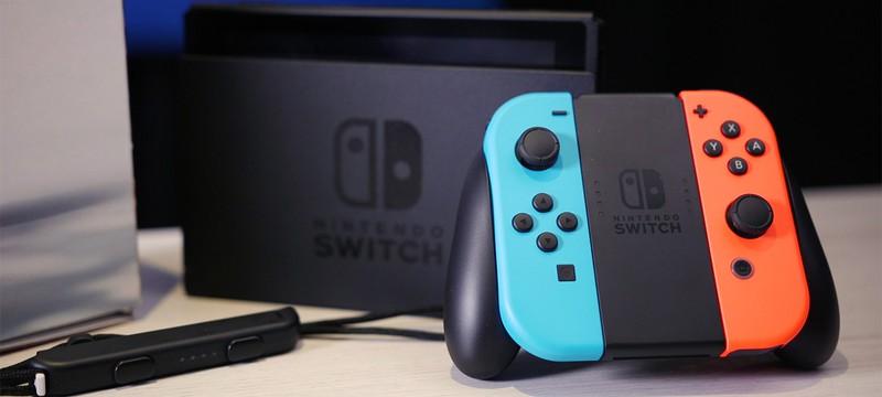 Nintendo Switch в Британии продается в два раза лучше Wii U