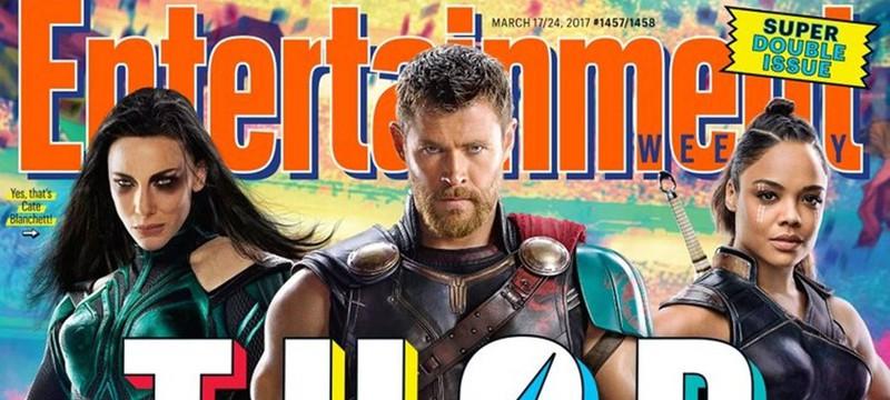 Первый взгляд на Тора и Хелу из Thor: Ragnarok