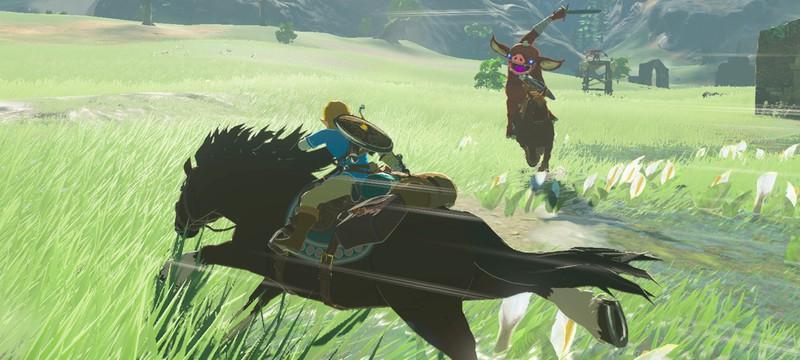 В Zelda: Breath of the Wild обнаружили необычный способ передвижения на летающих камнях