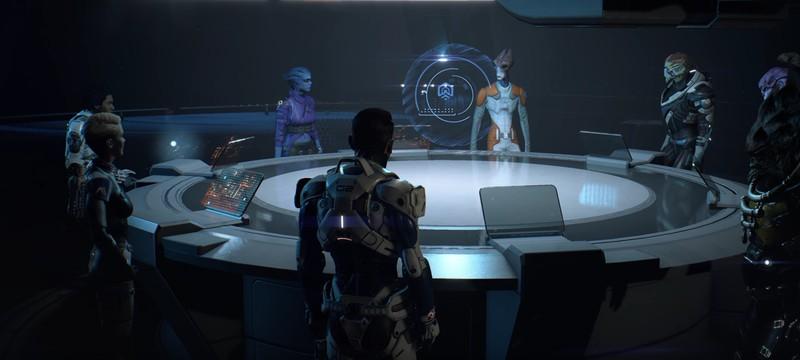 Час геймплея Mass Effect Andromeda из миссии на лояльность Лиама