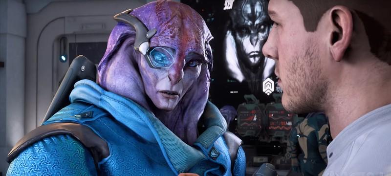 Ангара и компаньон Джаал — главные герои нового ролика Mass Effect: Andromeda