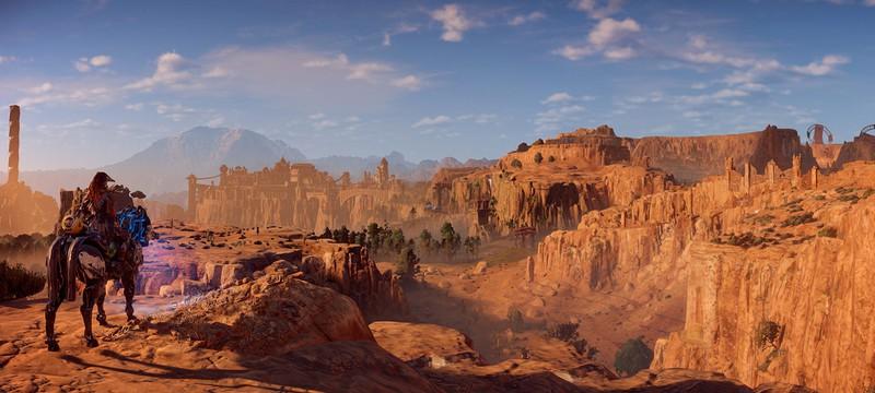 Сравнение реальных мест с их виртуальными копиями в Horizon Zero Dawn