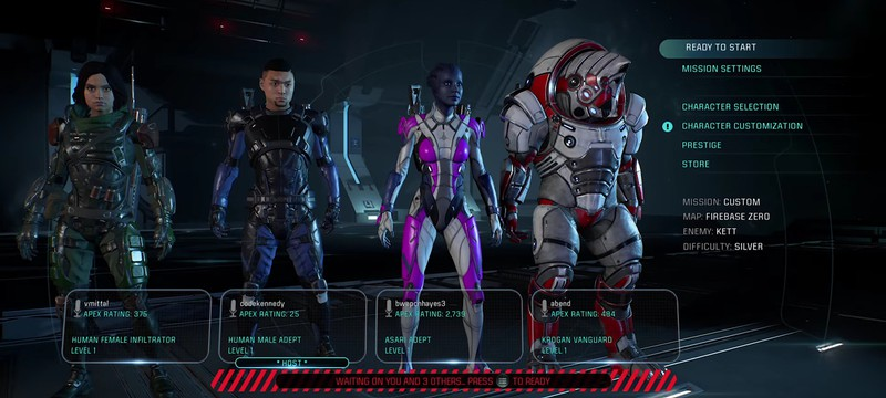 Гайд Mass Effect Andromeda — введение в мультиплеер