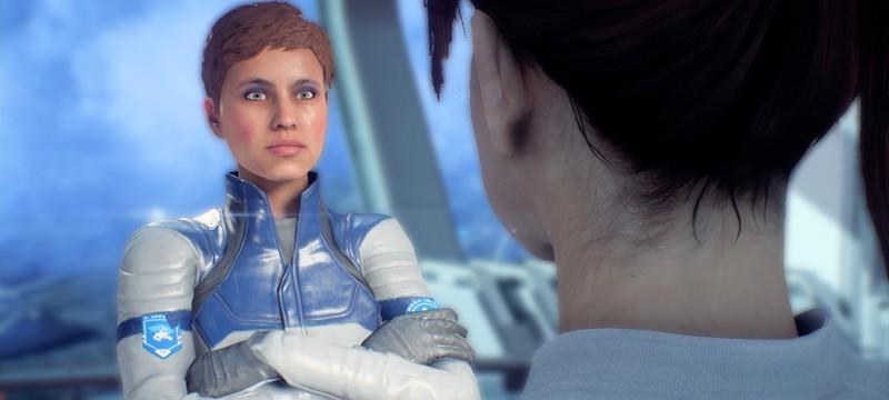 Косплеерша без опыта в играх была ведущим лицевым аниматором Mass Effect Andromeda