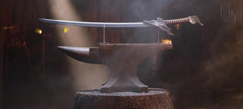 Реальный меч Ясуо из League of Legends