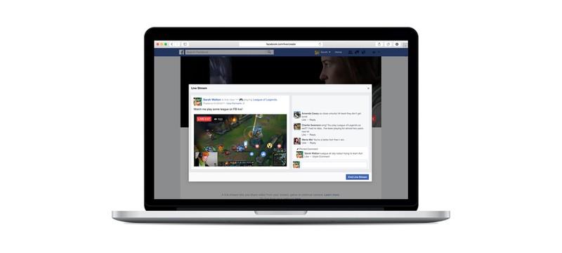 Facebook бросает вызов Twitch новым функционалом лайвстриминга