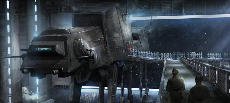В Star Wars: The Last Jedi будет новая версия AT-AT