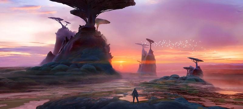 Миры и пришельцы Mass Effect Andromeda — концепт-арт