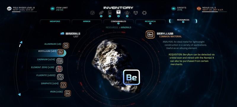 Гайд Mass Effect Andromeda – где найти редкие материалы для крафта